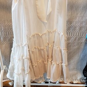 Dresses - Sheer dress